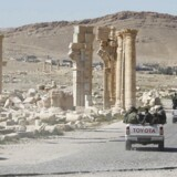 Palmyra er kendt for sine oldtidsruiner, der er på Unescos liste for verdens naturarv.