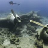 Modelfoto. Et flyvrag er fundet på havbunden ud for Norges sydvestlige kyst.