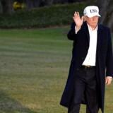 USAs præsident, Donald Trump, vil fjerne klimaforandringer fra listen over trusler mod USA ifølge medie – en handling, der vil ligge i tråd med præsidentens skepsis over for menneskers indvirkning på klimaet. Arkivfoto.