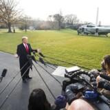 Præsident Donald Trumps seneste lille uge har været som at køre i rutsjebane. EPA/JIM LO SCALZO