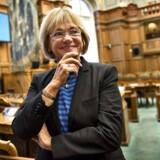 Folketingets formand Pia Kjærsgaard i folketingssalen.