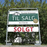 ARKIVFOTO 2016 af hus til salg- - Se RB 30/11 2016 06.52. Aldrig før har de danske boliger været så meget værd som nu. (Foto: Henning Bagger/Scanpix 2014)