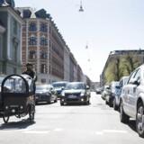 Genrebillede fra trafikken. Enhedslisten foreslår at hæve beboerlicensen i København.