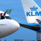 Omkostninger til strejker blandt de ansatte fik indtjeningen til at dykke i de første tre måneder af 2018 for det fransk-hollandske flyselskab Air France-KLM, der kom ud af kvartalet med et driftsunderskud.