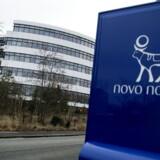 Arkivfoto. Pensionsgiganten ATP købte en stor portion Novo Nordisk-aktier i sidste halvdel af 2016, hvor medicinalselskabet var i lidt af et uvejr på aktiemarkedet.