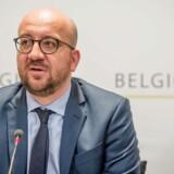 Belgiens premierminister, Charles Michel