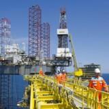 Uro i olielandet Iran har sendt olieprisen højere tirsdag morgen til niveauer, der ikke er set siden 2015 målt på den europæiske referenceolie, Brent. (Foto: CLAUS FISKER/Scanpix 2015)
