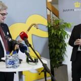 Rokade i Justitsministeriet mellem Søren Pind og Søren Pape.