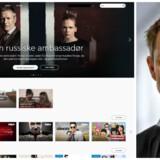 Den svenskejede streamingtjeneste Viaplay investerer store summer i selv at producere nordiske TV-serier, for det er med til at holde på kunderne, som administrerende direktør Jonas Karlén satser på at øge kraftigt. Foto: Viaplay
