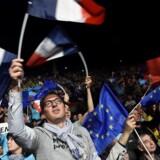 Arkivfoto fra den franske præsidentvalgkamp 2017.