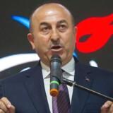 Den tyrkiske udenrigsminister, Mevlüt Cavusoglu.