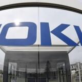 Nokia leverer blandede nøgletal ved præsentationen af årsregnskabet. Arkivfoto.