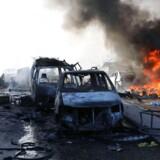 En enorm eksplosion har ramt Mogadishu.