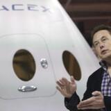 Topchefen for SpaceX, Elon Musk, der også står bag Tesla-bilerne, gør klar til at lave internetforbindelser i højhastighed i rummet. Han arbejder også med planer om at kolonisere MArs. Arkivfoto: Mario Anzuoni, Reuters/Scanpix