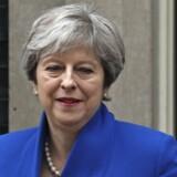 Midt i en Brexit-tid: Den britiske premierminister, Theresa May, har nok at tænke på. Foto: Neil Hall/Reuters