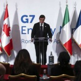 Carlo Calenda til G7-mødet d.10 April 2017.