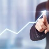 Den samlede økonomiske tillidsindikator for eurozonen steg i august til 111,9 fra 111,3 i juli.