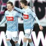 Niki Zimling udlignede for Sønderjyske sent i udekampen mod FC Midtjylland 18. marts, men sønderjyderne nåede at tabe kampen 1-2. Scanpix/Henning Bagger