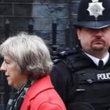 Den britiske indenrigsminister, Theresa May, ventes at fremlægge det omstridte, endelige lovforslag, som skal give britiske myndigheder og efterretningstjenester større mulighed for overvågning, i løbet af de kommende måneder. Arkivfoto: Andy Rain, EPA/Scanpix