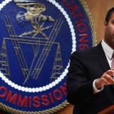 Ajit Pai, der er formand for den amerikanske telestyrelse, må aflyse sin deltagelse i verdens største messe for forbrugerelektronik efter at have modtaget dødstrusler. Arkivfoto: Alex Wong, Getty Images/AFP/Ritzau Scanpix
