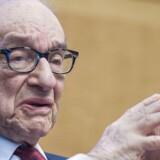 Den tidligere amerikanske centralbankchef Alan Greenspan