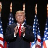 Donald Trump spillede meget på frygten, da han på sidstedagen af konventet blev kåret som partiets præsidentkandidat.