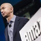 Amazons grundlægger, Jeff Bezos, er tæt på at være verdens rigeste
