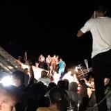 Beboere på Ischia er blevet evakueret, efter et jordskælv har ramt øen. / AFP PHOTO / Gaetano Di MEGLIO