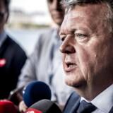 Lars Løkke Rasmussen var fredag én af tre hovedtalere ved det første EU-topmøde dedikeret til digitalisering.