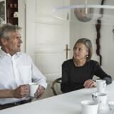 Berit Jul Mosgaard og Jørgen Fløe Mikkelsen er utilfredse med den nuværende arveafgift.