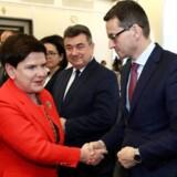Beata Szydlo. Foto: Agencja Gazeta/Slawomir Kaminsk