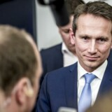 Finansminister Kristian Jensen (V) møder pressen efter de afsluttende forhandlinger om ny skatteaftale mellem regeringen og Dansk Folkeparti tirsdag.