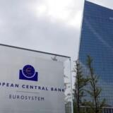 Den Europæiske Central Bank (ECB) i Frankfurt.