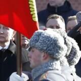 Beskyldninger og indirekte trusler flyver mod øst og vest efter fundet af en livløs russisk eksspion i en engelsk domkirkeby i forrige uge. Foto: Sergei Chirikow