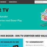 Boxer vil gerne fortsætte med opgaven at levere antenne-TV til danskerne efter 2020, hvor den nuværende licens udløber - og der er ingen konkurrenter i opløbet.