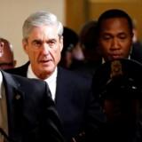 Den særlige anklager Robert Mueller efter et møde med Senatrets jusitetsudvalg tidligere på ugen.