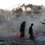 En markedsplads i Yemen blev onsdag ramt af et luftangreb fra Saudi-Arabien. 29 civile meldes dræbt.