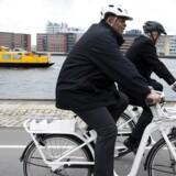 USAs transportminister, Anthony Foxx, er i København for at lade sig inspirere af byens cykelvenlige infrastruktur. Foto: Jens Astrup.
