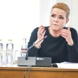Udlændinge- og integrationsministeren, Inger Støjberg (V).