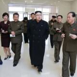 """Nordkorea bekræfter mandag, at søndagens test af et ballistisk missil forløb """"succesfuldt""""."""
