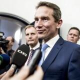 Regeringen og Dansk Folkeparti møder pressen efter de afsluttende forhandlinger om ny skatteaftale i Finansministeriet.
