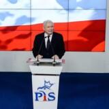 Som leder af Polens regeringsparti har Jaroslaw Kaczynski (billedet) afvist europæisk kritik af polske retsreformer. Nu kan sagen om en polsk narkosmugler, der er anholdt i Irland, sørge for yderligere splid mellem EU og Warszawa.