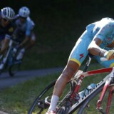 Arkivfoto. Fabio Aru præsenteres som kaptajn under Tour de France, mens Jakob Fuglsang tituleres som leder.
