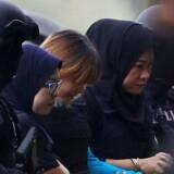 Arkivfoto. To kvinder er anklaget for at dræbte Kim Jong-uns halvbror med nervegassen VX i en malaysisk lufthavn.