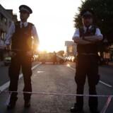 Den mand, som kørte en varevogn ind i en menneskemængde nær en moské i det nordlige London i juni sidste år, er torsdag blevet kendt skyldig i drab.