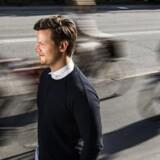 Christian Søgaard-Jensen skrev rundt regnet 60 ansøgninger, før han fik job som fuldmægtig hos Banedanmark.