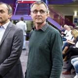 Lærernes Anders Bondo Christensen og KLs Michael Ziegler står igen stejlt over for hinanden. Arkivfoto fra 2013.