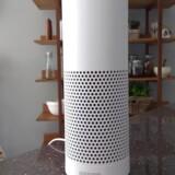 Trådløse højttalere som Amazons Echo har indbygget talegenkendelsessoftware, så man kan tale til den og få den til at gøre enklere ting eller skaffe svar på nettet. Arkivfoto: Peter Hobson, Reuters/Scanpix
