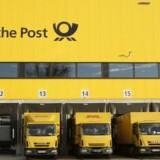 Arkivfoto. Deutsche Post må onsdag se sin aktie falde, da væksten i indtjeningen i pakkedivisionen, der er selskabets største, ikke kunne følge med resten af selskabets divisioner i fjerde kvartal.
