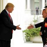 Løkke besøgte torsdag Trump.